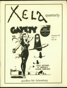 Xela Quarterly Fanzine #1 1998- Signed 189/500- Schomburg VF