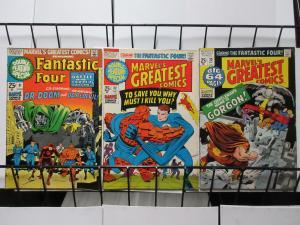 Marvel's Greatest Comics (1971) #31-33 Lee + Kirby Fantastic Four's Adventures!