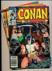 Marvel Comics Lot of 4-CONAN THE BARBARIAN #157-160 VERY FINE+ (PF924)
