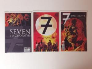 Seven Psychopaths #1-3 Set Boom Studios Comics Near Mint