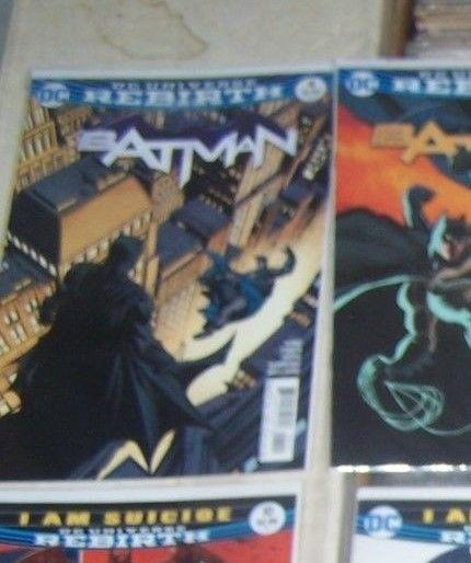 Batman # 4 2016  DC UNIVERSE REBIRTH   gotham girl i am gotham pt 4