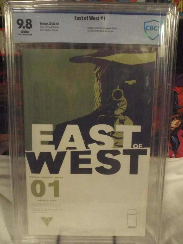 East of West #1 - CBCS 9.8 - NM/MINT - TV Show in Development