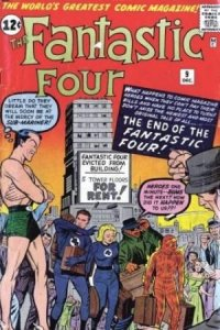 Fantastic Four #9 (ungraded) stock photo / SCM