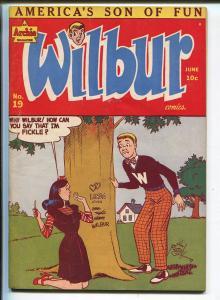 WILBUR #19 1948-MLJ/ARCHIE-KATY KEENE-vf+