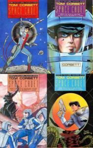 TOM CORBETT SPACE CADET BOOK 2 (1990 ET) 1-4  complete!