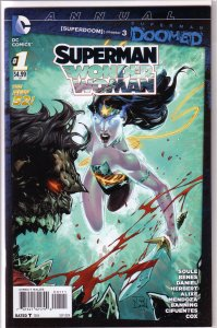 Superman / Wonder Woman   vol. 1  Annual   # 1 FN/VF (Doomed)