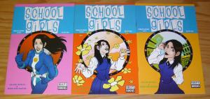 School Girls: Shelly's Story #1-3 VF/NM complete series - adept books - indy set