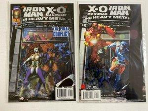 Iron Man X-O Manowar Heavy Meal parts 1+2 6.0 FN (1996)