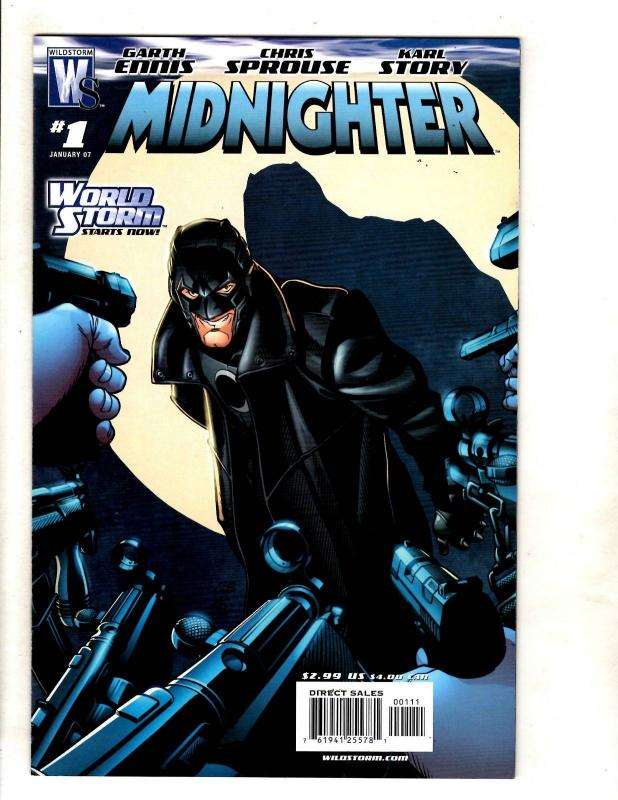 12 Midnighter Wildstorm Comic Books # 1 2 3 5 10 12 13 14 15 16 17 18 MF18