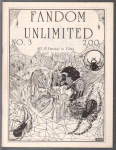 Fandom Unlimited #3 1977-C.C. Beck-Ron Wilber-Dan Adkins-Gene Pay-VF