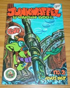 Junkwaffel #2 VF (2nd) print - last gasp - vaughn bode - cheech wizard