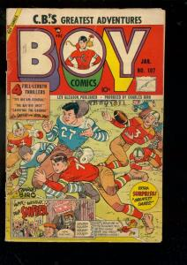 BOY COMICS #107 1955-CHARLES BIRO-ROCKY X vs COMMIES VG