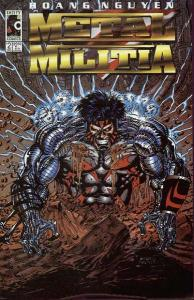 Metal Militia #2, NM + (Stock photo)