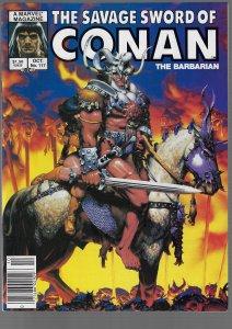 Savage Sword of Conan #117 (Marvel, 1985)