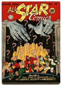 ALL-STAR COMICS #23-First PSYCHO PIRATE-VF- high grade copy-1944