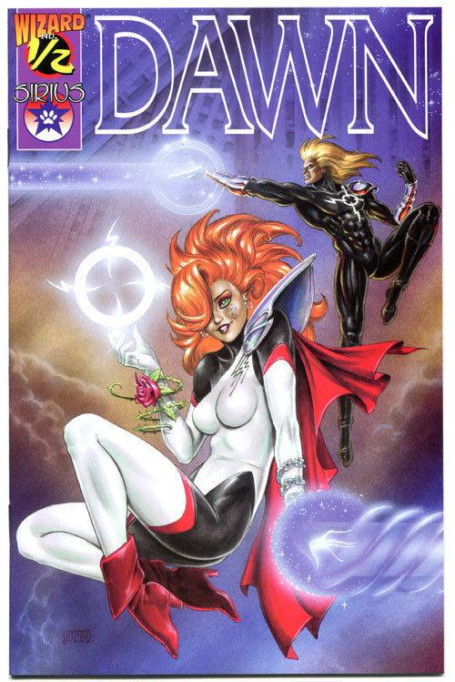 DAWN #1/2, NM-, Joseph Linsner, Cry for Dawn , Lingerie, 1996, Mail away edition