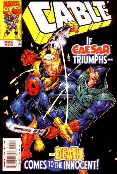 Cable (1993 series) #70, NM + (Stock photo)