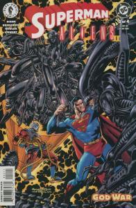 Superman/Aliens 2: God War #2 VF; Dark Horse   save on shipping - details inside