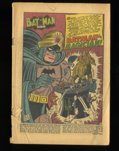 Detective Comics (1937) #207 Coverless Complete!