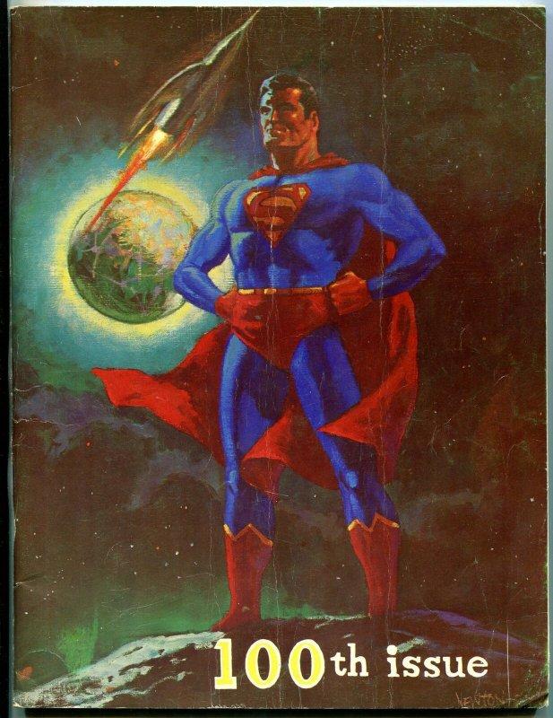 Rockets Blast and Comic Collector #100 1973-Superman-Don Newton-Star Trek-