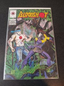 Bloodshot #7 1st First Full Appearance Ninjak VanHook Perlin Valiant Comics 1993