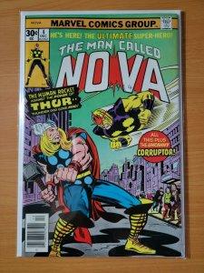 Nova #4 Nova vs Thor Cover ~ NEAR MINT NM ~ 1976 Marvel Comics