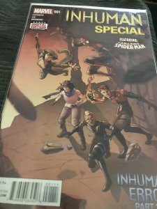 Marvel Inhuman #001 Special Feat Spider-Man Mint