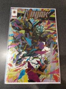 NINJAK #1 Valiant Comic Book NM Foil COVER