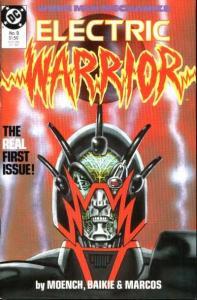 Electric Warrior #9, NM- (Stock photo)
