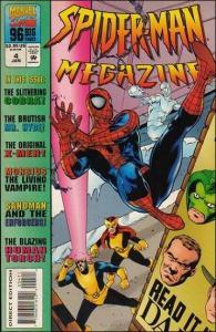 Marvel SPIDER-MAN MEGAZINE #4 VF