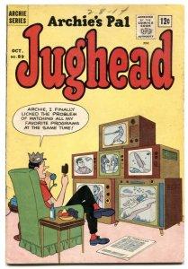 Archie's Pal Jughead #89-Betty-Veronica-ice cream cover VG+