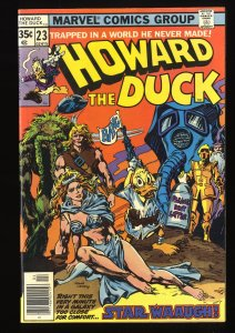 Howard the Duck #23 NM- 9.2 Star Wars Parody!