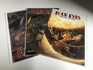 Four Eyes Hearts Of Fire 1 2 3 Nm Near Mint Image Comics
