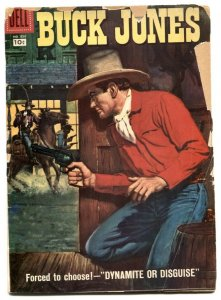 Buck Jones- Four Color Comics #850 1957 G-