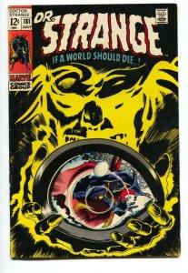 Dr Strange #181 comic book 1969- Marvel Comics--Ditko art FN-