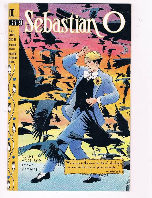 Sebastian O #2 Of 3 VF DC Vertigo Comic Book DE6