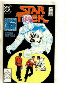 Star Trek # 53 VF/NM DC Comic Book SIGNED Peter David Space Opera Kirk J372