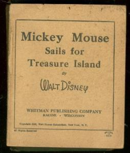 MICKEY MOUSE SAILS TO TREASURE ISLAND BIG LITTLE BOOK FR