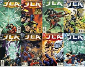 JLA (1997) 68-75  The Obsidian Age COMPLETE STORY ARC