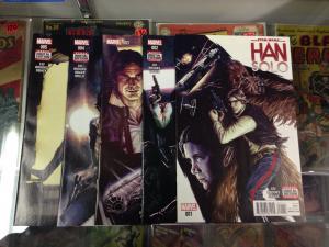 Star Wars Han Solo 1-5 NM- set complete Marvel
