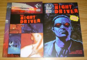 the Night Driver SC VF/NM graphic novel + teaser edition cinemagraphix moonstone