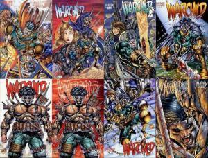 WARCHILD (1995 IM)   1A-1B,2A,3A-3C,4A-4B COMICS BOOK