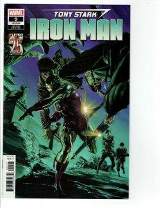 Tony Stark Iron Man #9 NM Slott Alex Ross Marvels 25th Variant B Avengers  2019