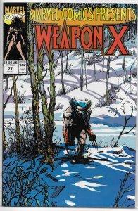 Marvel Comics Presents   vol. 1   # 77 FN/VF Weapon X/Shanna/Sub-Mariner