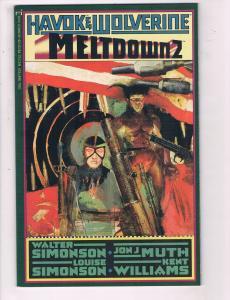 Havok & Wolverine Meltdown #2 FN/VF Marvel Comic Book Simonson Williams DE6