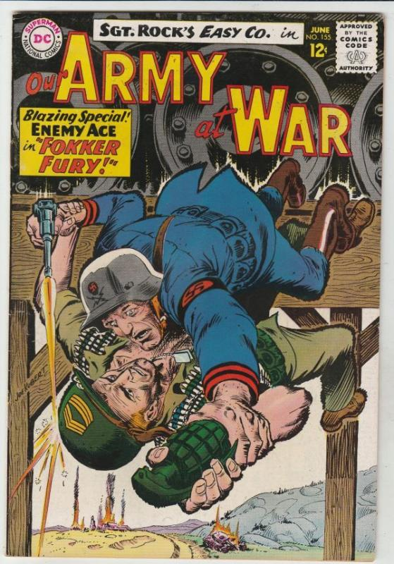 Our Army at War #155 (Jun-65) VF/NM High-Grade Easy Company