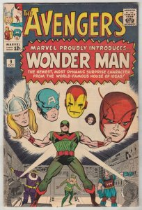 Avengers, The #9 (Oct-64) VF+ High-Grade Avengers