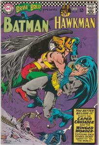 Brave and the Bold, The #70 (Mar-67) VF/NM High-Grade Batman, Hawkman