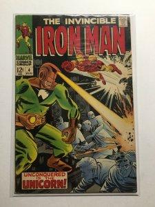 Iron Man 4 Good+ Gd+ 2.5 Water Damaged Marvel