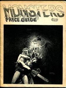 Monsters Price Guide #2 1975-Berni Wrightson-Larry Kenton-rare-FN